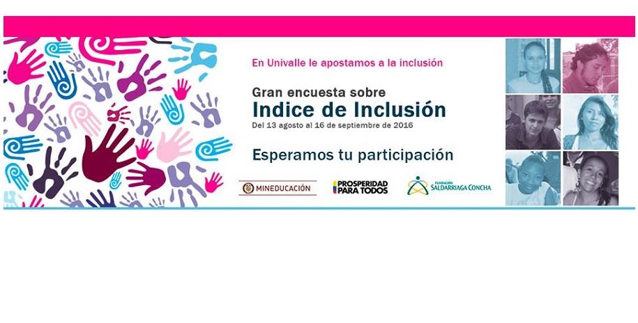 Hoy está habilitada la encuesta de inclusión en Univalle