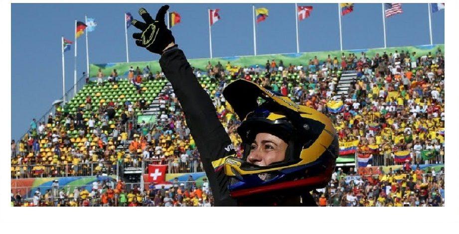 Mariana Pajón, primera bicampeona olímpica de Colombia