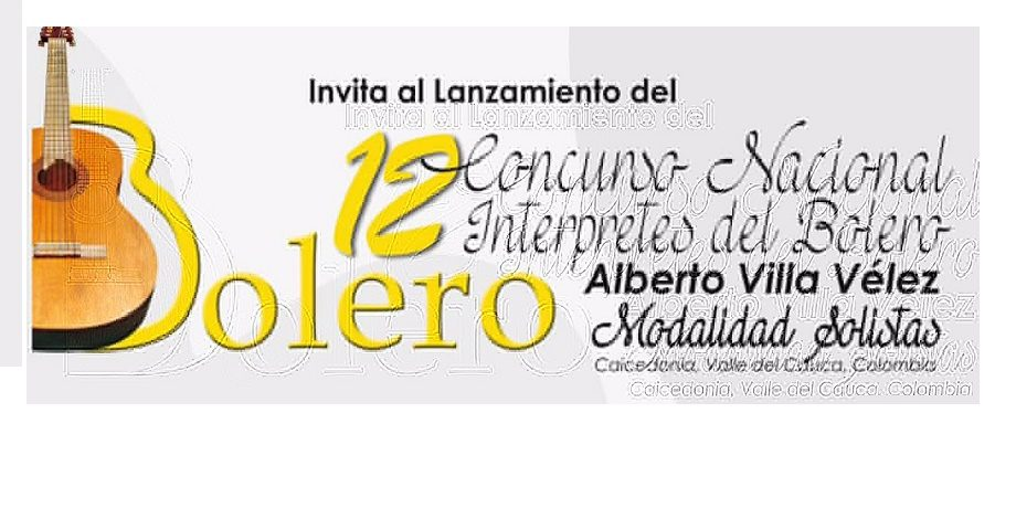 Concurso Nacional de Intérpretes del Bolero alista su lanzamiento en Cali