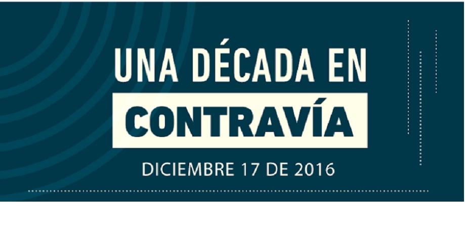 Contravía Films celebra sus 10 años: 17 de diciembre en el museo la tertulia::::