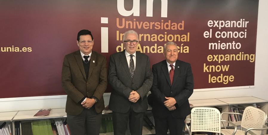 Universidad Internacional de Andalucía y Univalle acuerdan colaborar en proceso de paz