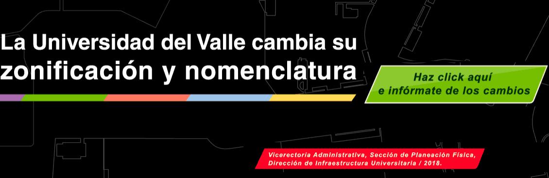 Nueva zonificación y nomenclatura del Campus Meléndez